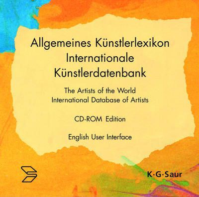 31st Edition (English User Interface) / The Artists of the World. International Database of Artists. CD-ROM