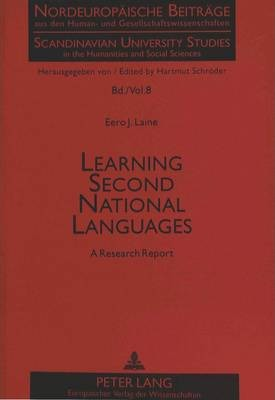 Learning Second National Languages: A Research Report