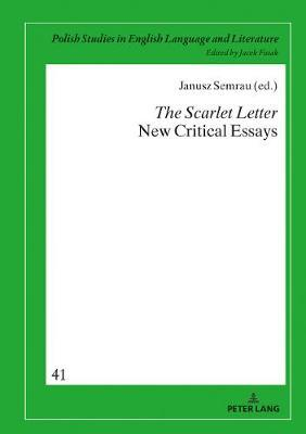 Proposal Essay Format The Scarlet Letter New Critical Essays What Is A Synthesis Essay also Cause And Effect Essay Topics For High School The Scarlet Letter New Critical Essays  Janusz Semrau   Essay On How To Start A Business