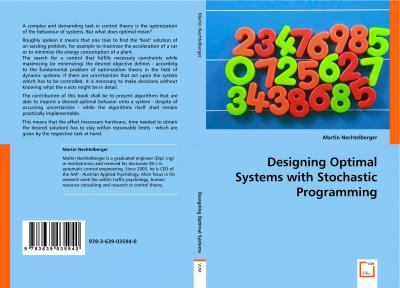 Designing Optimal Systems with Stochastic Programming