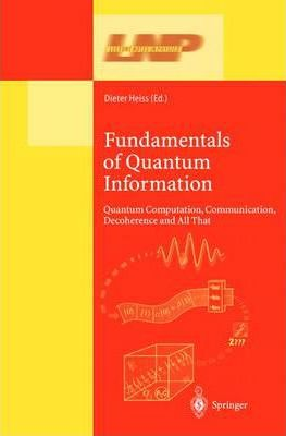 Fundamentals of Quantum Information