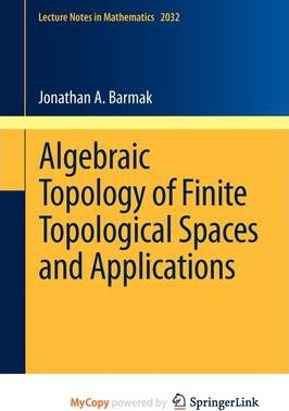 Algebraic Topology of Finite Topological Spaces and Applications