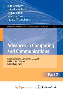 Advances in Computing and Communications, Part II