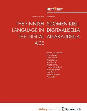 The Finnish Language in the Digital Age