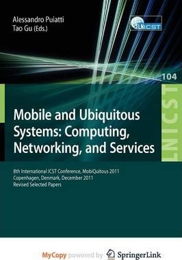 Mobile and Ubiquitous Systems