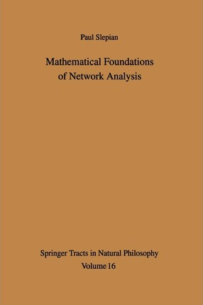 Mathematical Foundations of Network Analysis