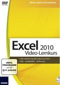 Excel 2010 Video-Lernkurs