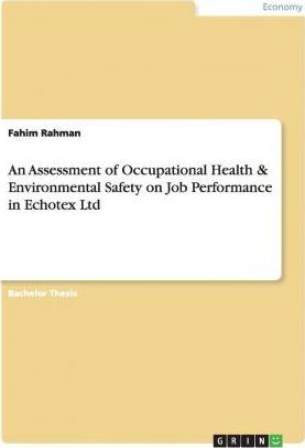 An Assessment of Occupational Health & Environmental Safety on Job Performance in Echotex Ltd