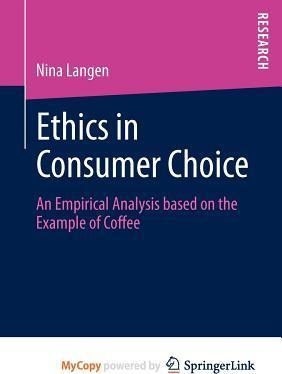 Ethics in Consumer Choice
