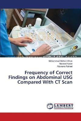 Frequency of Correct Findings on Abdominal Usg Compared with CT Scan
