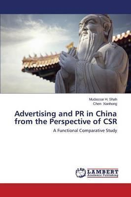 Advertising and PR in China from the Perspective of Csr thumbnail