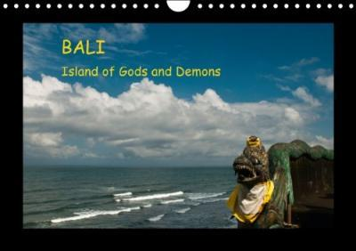Bali Island Of Gods And Demons Wall Calendar Perpetual Din A4