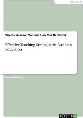 Effective Teaching Strategies in Business Education