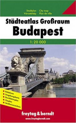 City Atlas Greater Budapest