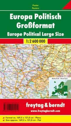 Europe Political enlarged map
