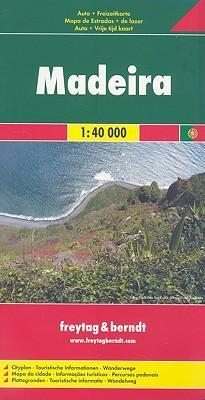Madeira, Road map 1:40.000 2017