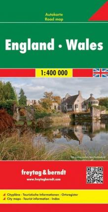England - Wales Road Map 1:400 000