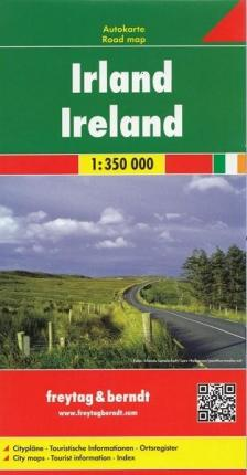Ireland Road Map 1:350 000