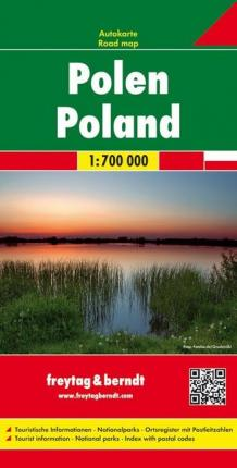 Poland Road Map 1:700 000