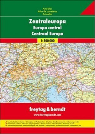 Europe Central Road Atlas