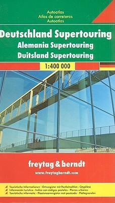 Germany Supertouring Road Atlas 2007
