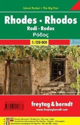 Rhodos 1 : 120 000. Island Pocket + The Big Five