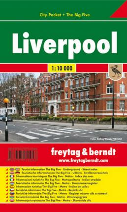 Liverpool City Pocket + the Big Five Waterproof 1:10 000