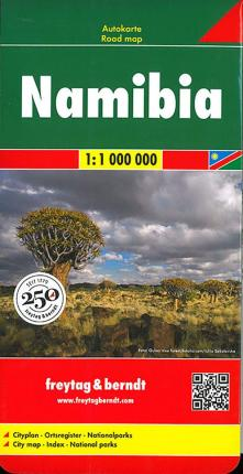 Namibia Road Map 1:1 000 000