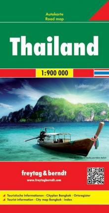 Thailand Road Map 1:900 000