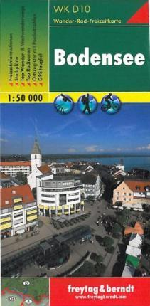 Lake Constance Hiking + Leisure Map 1:50 000