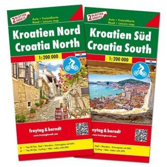 Croatia Set Road Map 1:200 000