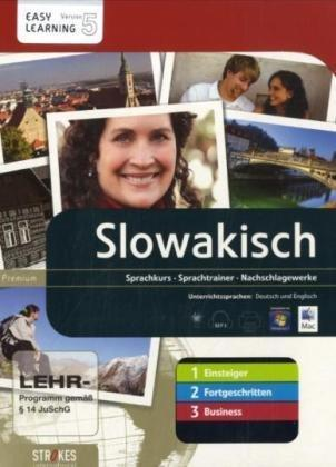 Strokes Slovakian 1+2+3 (Beginners / Intermediate / Advanced& Business)