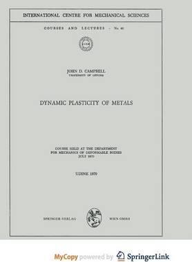 Dynamic Plasticity of Metals