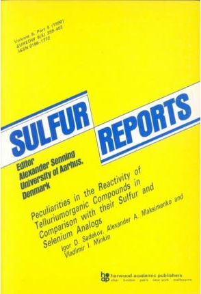 Peculiarities in the Reactivity of Telluriumorganic Compounds in Comparison with Their Sulfur and Selenium Analogs