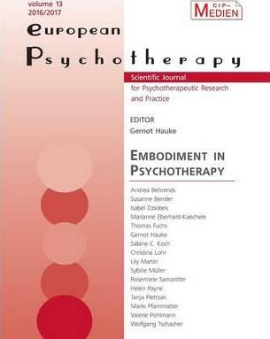 European Psychotherapy 2016/2017