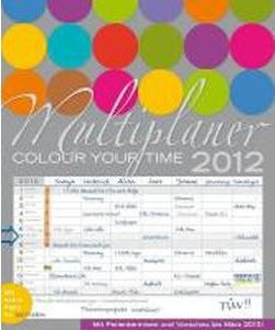 Multiplaner - Colour your time 2012