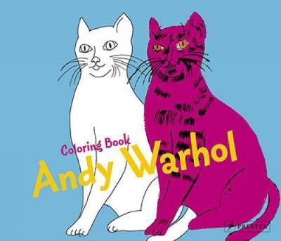 Coloring Book Andy Warhol : Annette Roeder : 9783791341705