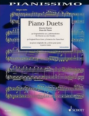 Piano Duets : 50 Original Pieces from 3 Centuries