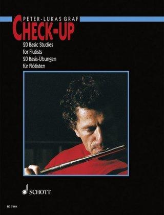Check-Up  20 Basic Studies for Flautists