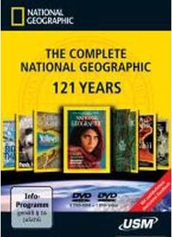The Complete NATIONAL GEOGRAPHIC - 121 Years (6 DVD-ROMs)