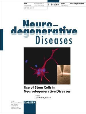 Use of Stem Cells in Neurodegenerative Diseases : A  Rolfs
