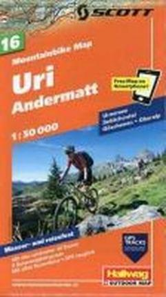 Uri Andermatt Bike Map
