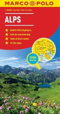 Alps Marco Polo Map : Marco Polo : 9783829767187