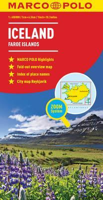 Iceland Marco Polo Map