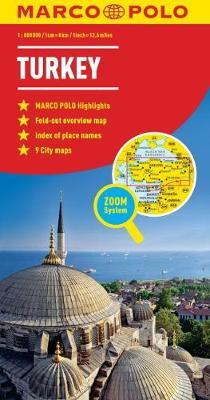Turkey Marco Polo Map