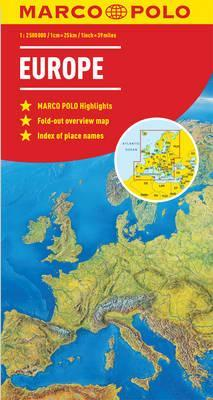 Europe marco polo map marco polo 9783829767286 europe marco polo map gumiabroncs Image collections