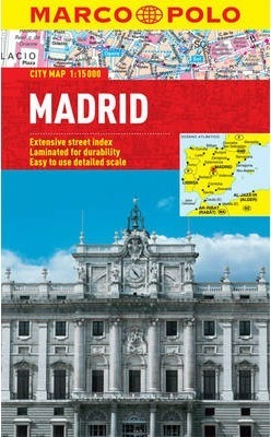 Madrid City Map