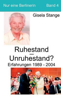Ruhestand - Unruhestand ? Cover Image