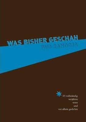 Was bisher geschah Cover Image