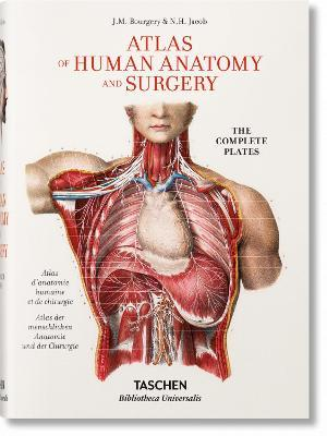 Jean Marc Bourgery. Atlas of Human Anatomy and Surgery - Jean-marie Le Minor, Henri Sick